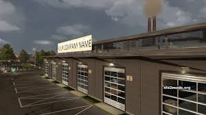 Large Garage by New Large Garage With Editable Company Name Ets2 Mods