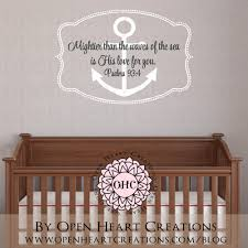 nautical wall decals etsy color the walls of your house nautical wall decals etsy nautical wall art boat anchor wall decal with bible verse
