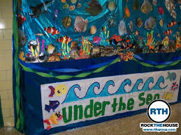 Under The Sea Centerpieces by Under The Sea Themes Under The Sea Decorations For Homecoming