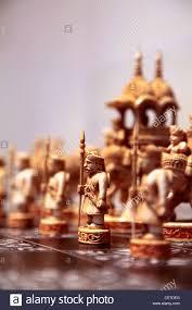 usa california pasadena an ancient chess set display in norton