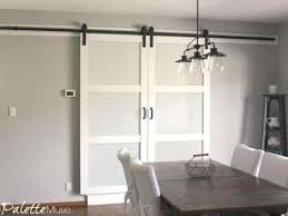 can you use an existing door for a barn door what i wish i d known about barn doors the palette