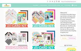 see inside the simon says st september card kit
