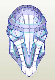8 images of overwatch reaper mask foam template elecitem com