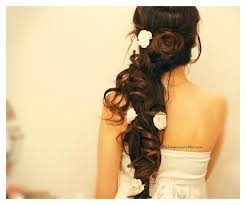 long hairstyle formal bangs 2014 medium curly hairstyles for women