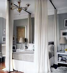 Hanging Curtain Rods From Ceiling Ideas Best 25 Curtains Around Bed Ideas On Pinterest Enclosed Bed