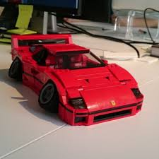lego ferrari enzo i built a lego ferrari f40 and it u0027s stupidly awesome