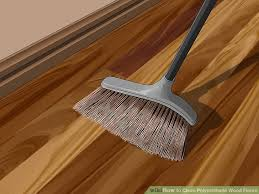 Clean Polyurethane | 4 ways to clean polyurethane wood floors wikihow