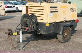 2000 atlas copco xas 96dd 185 mobile compressor item i8198