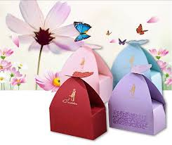 unique boxes creative unique shape beautiful butterfly candy boxes wedding
