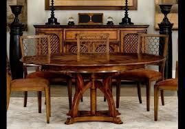 round dining room tables with self storing leaves dining tables 84 jupe table self storing leaves walnut white oak