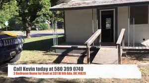 3 bedroom house for rent at 331 w 6th st in ada ok 74820 youtube