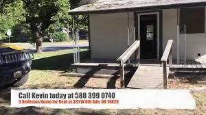 i bedroom house for rent 3 bedroom house for rent at 331 w 6th st in ada ok 74820 youtube