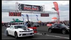 2014 nissan 370z quarter mile 1 4 mili camaro 6 2 ss vs nissan 370z i runda gp polski youtube