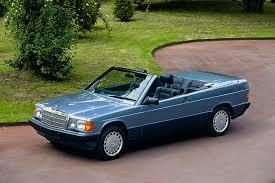 mercedes benz 190 e cabriolet prototype w201 u00271989 le mans