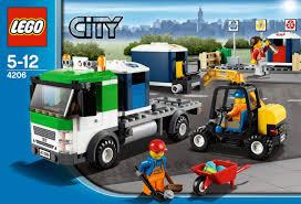 lego ferrari truck lego city 4206 recycling truck amazon co uk toys u0026 games