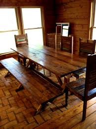 Western Dining Room Tables by Furniture Marvelous Rustic Bench Dining Table Anotdvrlistscom