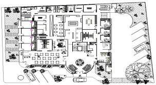 hotel floor plan dwg autocad file 4 star hotel plan