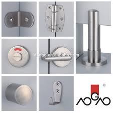 Steel Toilet Partitions 304 Stainless Steel Toilet Cubicle Accessories Buy High Quality