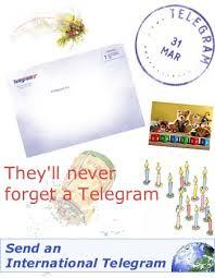 how do you send a telegram telegrams online send a telegram in the uk and worldwide