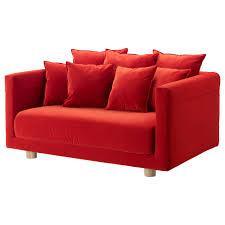 stockholm 2017 two seat sofa sandbacka orange ikea