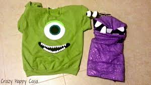 Boo Monsters Inc Halloween Costume by Halloween Recap Monsters Inc Diy Family Costumes Crazy Happy Casa