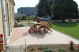 revetement pour escalier exterieur décorext terrasse en résine pour votre extérieur dans le finistère