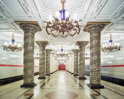 the eerie similarity between russia u0027s palaces and metro stations