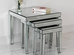 mirrored coffee table set mirror proddetail beautiful venetian mirror table venetian