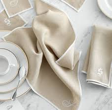 typographer s linen dinner napkins and graham