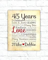 40th wedding anniversary gifts for parents ruby wedding anniversary gifts for parents th india ideas summer