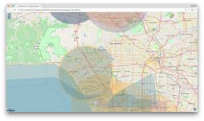 South Los Angeles Map by Openlayers 3