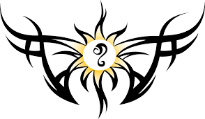 65 sun tattoos tribal sun tattoo designs clip art library
