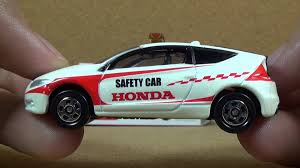 tomica mitsubishi triton tomica 086 honda cr z safety car diecast car youtube