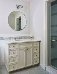 how to mount a bathroom mirror bathroom bed bath beyond round wall mount bathroom mirrors for