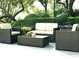 Outdoor Wicker Patio Furniture Clearance Wicker Patio Set Vrboska Hotel