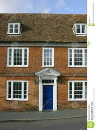 Georgian House by Georgian House Front Stock Photo Image 163070