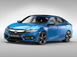 honda civic 2017 honda civic 2017 3d model in sedan 3dexport