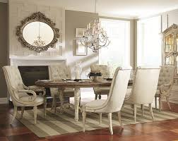 furniture elegant dining room design with upholstered dining