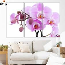compare prices on pink orchids flowers online shopping buy low modern home decor wall art picture for living room bedroom decor pink butterfly orchid flower canvas