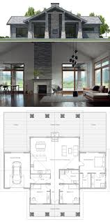 House Plans Small by Best 25 Modern Bungalow House Plans Ideas On Pinterest Modern