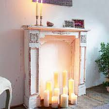 shabby chic fireplace mantel antique vintage indoor freestanding