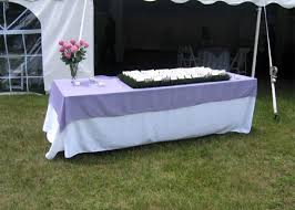 90 x 156 table view a selection of our rental linens linen rental options