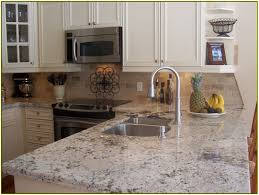 White Kitchen Cabinets With Granite Countertops by Ideas Remarkable Dazzling Brown Cabinet Prefab Granite Depot And