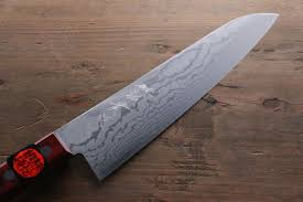 shigeki tanaka vg10 17 layer damascus hand forged japanese chef u0027s