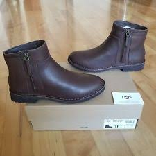 womens brown leather boots size 11 leather ugg boots ingrid stout brown s size 11 ebay