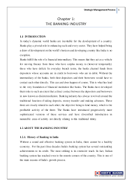 strategic management process of hdfc bank