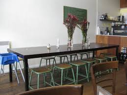 Narrow Dining Room Tables Bench Dining Stunning Dining Room Tables Industrial Dining Table