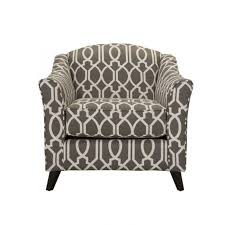 Patterned Accent Chair Fusion Coleman Dark Gray Patterned Accent Chair Weekends Only