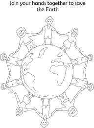 Earth Day Printable Coloring Page For Kids 4 121 Cool Pages Day Printable Coloring Pages