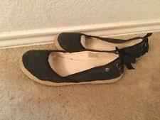 ugg womens indah shoes white womens ugg australia 1003493 white indah canvas ballet flats shoes